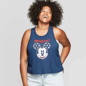 Disney Mickey usa tank top